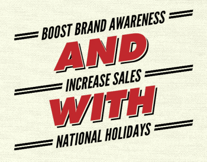National Holidays Can Increase Sales